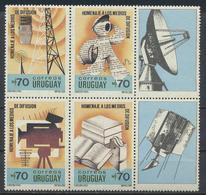 °°° URUGUAY - Y&T N°1325/28 - 1990 MNH °°° - Uruguay