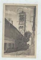 Louvres (95) : L'Église Prise Du Magasin Boulangerie En 1932  PF.. - Louvres