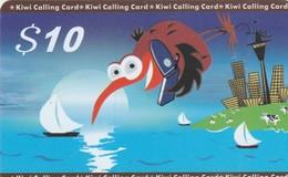 TARJETA TELEFONICA DE NUEVA ZELANDA, Kiwi - Blue $10. NZ-PRE-STL-0003. (001) - Neuseeland