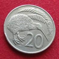 New Zealand 20 Cents 1971 KM# 36.1  Nova Zelandia Nuova Zelanda Nouvelle Zelande - New Zealand