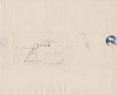 LETTRE  -   LONGUYON  ~ METZ  -- 1808 - 1801-1848: Vorläufer XIX