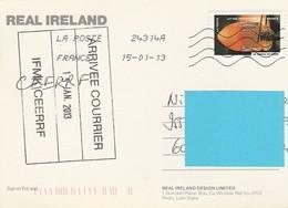 PUBLICITE BIERE GUINNESS IRELAND IRLANDE - Werbepostkarten