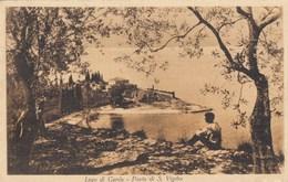 PUNTA SAN VIGILIO-VERONA-LAGO DI GARDA-CARTOLINA NON VIAGGIATA ANNO 1915-1925 - Verona