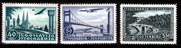 YUGOSLAVIA 1940 AIR  SET + EXHIBITIONSTAMP  MH - 1931-1941 Reino De Yugoslavia