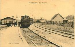 280319D - 02 PONTAVERT La Gare - Chemin De Fer Train Loco - Ch Lefèvre éditeur - France