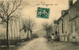 280319D - 02 PASLY Entrée Du Pont - Autres Communes
