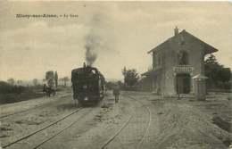 280319D - 02 MISSY SUR AISNE La Gare - Chemin De Fer Train - France