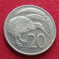 New Zealand 20 Cents 1974 KM# 36.1 *V2 Nova Zelandia Nuova Zelanda Nouvelle Zelande - New Zealand