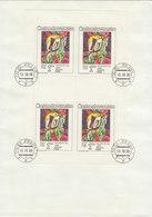 CZECHOSLOVAKIA 1986 Used Sheets(3) BARGAIN.!! - Blokken & Velletjes