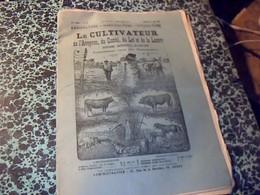 """Revue Agriculture """" Le Cultivateur De L Aveyron Du Cantal  Du Lot Et Dela Lozere"""" Annèe 1894 No 10 - Libri, Riviste, Fumetti"""