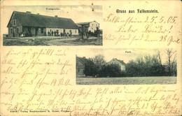 FALKENSTEIN KR. CULM, Postagentur Und Park, Kreisobersegmentstempel - Westpreussen