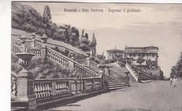 FRASCATI. VILLA  TORLONIA. INGRESSO E GRANDINATA. CPA CIRCA 1900s - BLEUP - Italia