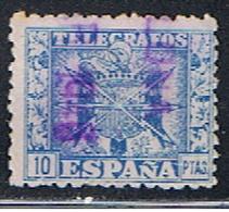 (3E 151) ESPAÑA // EDIFIL 84 // Y&T 87 // 1940-43 - Télégraphe