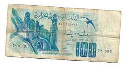 ALGERIA 100 Dinars 1981 - 11 - 01 - Algeria