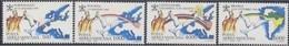 Vatican Vatikaan 1992 Yvertn° PA 92-95 *** MNH Cote 22,50 Euro Voyages De S.S. Jean-Paul II - Poste Aérienne