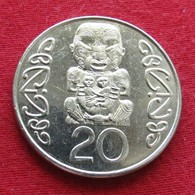 New Zealand 20 Cents 2002 KM# 118  Nova Zelandia Nuova Zelanda Nouvelle Zelande - Nouvelle-Zélande