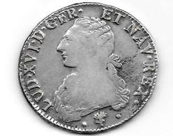 Ecu Louis XVI Aux Branches D'olivier 1784 L  G356  Voir Photo 28g64 - 987-1789 Monnaies Royales
