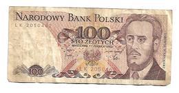 POLAND 100 Zloty 1982 - Polen