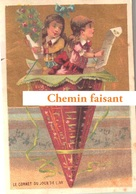 "Chromo Le Cornet Du Jour De L""An - Scans Recto-verso - Trade Cards"