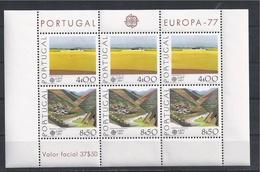 EUROPA - CEPT 1977 - Portugal - BF Neufs // Mnh // Cv €50.00 - Europa-CEPT