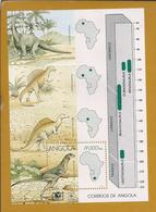 Dinossaurius Em Angola. Triásico - Lesothosaurus. Jurássico - Brachiosaurus. Cretássico - Ouranosaurus, Spinosaurus. - Vor- Und Frühgeschichte