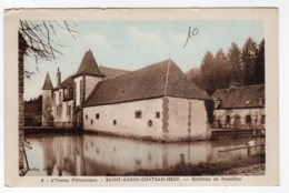 Saint-Aubin-Château-Neuf  (Yonne) Château De Fourolles - France