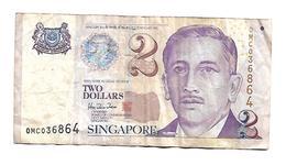 SINGAPORE 2 Dollars - Singapore