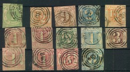 THURN UND TAXIS - Kleines Lot 24 Marken Hoher Katalogwert - Briefmarken