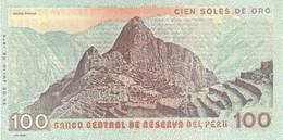 Peru P.114   100  Soles 1976 Unc - Perù