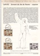2591 Document Officiel  David Serment Du Jeu De Paume  Paris 75   20 Juin 1989 - Postdokumente