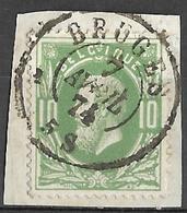 8S-041: N° 30 :Dc: BRUGES - 1869-1883 Leopoldo II