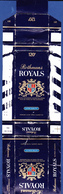England, Tobacco Box - Rothmans ROYALS / Rothmans Of Pall Mall, London - Boites à Tabac Vides