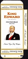 U.S.A., Tobacco Box - KIng Edward / Jacksonvile - 1960's/ 70's - Empty Tobacco Boxes
