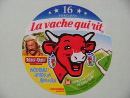 Etiquette Fromage Fondu - Vache Qui Rit - 16 Portions Bel Pub Astérix&Obélix Avec G.Depardieu   A Voir ! - Cheese