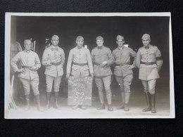 Carte Photo 8 Eme B.O.A Honneur Aux ANCIENS Et Aux PIAFS Joigny 1929 - Autres