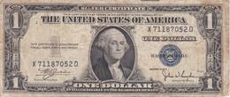 BILLETE DE ESTADOS UNIDOS DE 1 DOLLAR DEL AÑO 1935 C LETRA X-D WASHINGTON  (BANK NOTE) - Billetes De La Reserva Federal (1928-...)