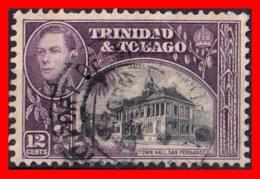 TRINIDAD & TOBAGO ( AMERICA DEL NORTE )  . STAMPS AÑO 1935 -1937 PAISAJES Y EDIFICIOS. AYUNTAMIENTO DE SAN FERNANDO - Trinidad Y Tobago (1962-...)