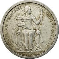 Monnaie, Nouvelle-Calédonie, 2 Francs, 1949, Paris, TB+, Aluminium, KM:3 - Nuova Caledonia