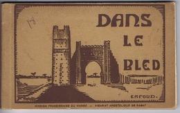 MAROC - Dans Le Bled - Mission Franciscaine Du Maroc - ERFOUD En Couverture - Carnet De 18 CP - Maroc
