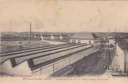 88  Vosges  -  Rambervillers  -  Usines  Velin  Et  Rue  Du  Vieux  Chemin  De  Romont - Rambervillers
