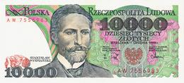 NARODOWY BANK POLSKI - 10.000 ZLOTYCH - 1988 - Poland