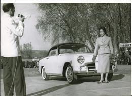 TOP-PHOTO-AUTO- Simca 9 ( Aronde) Modèl 1955. - Automobiles