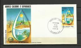 Nouvelle Calédonie   FDC YT 478 Protection De La Nature Nouméa 12.10.83 - Nieuw-Caledonië
