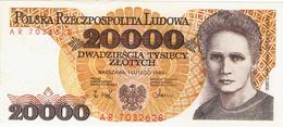 NARODOWY BANK POLSKI - 20.000 ZLOTYCH - 1989 - Poland