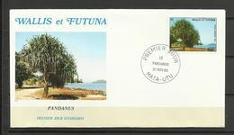 Wallis Et Futuna  FDC YT A 130 Arbre Pandanus - Covers & Documents