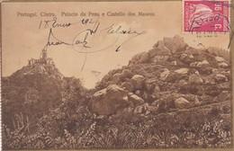 PORTUGAL. CINTRA. PALACIO DA PENA E CASTELLO DOS MAUROS. OBLITERE AN 1927 LISBOA - BLEUP - Portogallo