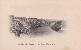 L.H. PORTO. LE PONT MARIA PIA. CPA CIRCA 1900s - BLEUP - Porto