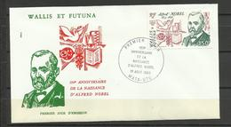 Wallis Et Futuna  FDC YT A 127 Alfred Nobel - Covers & Documents