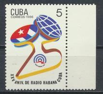 °°° CUBA - Y&T N°1917 - 1986 MNH °°° - Nuovi