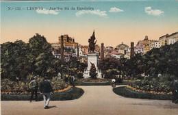 LISBOA. JARDIM SA DA BANDEIRA. CPA CIRCA 1920s - BLEUP - Lisboa